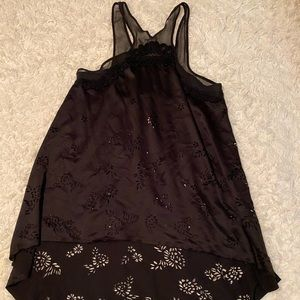 Free people small tank flowy  top